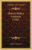 Materia Medica Contracta (1762)