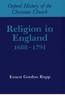 Religion in England 1688-1791