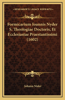 Formicarium Ioannis Nyder S. Theologiae Doctoris, Et Ecclesiastae Praestantissimi (1602)