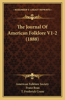 The Journal of American Folklore V1-2 (1888)