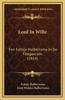 Leed in Wille: Fen Eeltsje Halbertsma in de Flotgaerzen (1854)