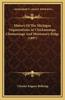 History of the Michigan Organizations at Chickamauga, Chattanooga and Missionary Ridge (1897)