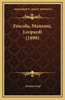 Foscolo, Manzoni, Leopardi (1898)