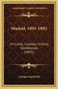 Madrid, 1891-1892: Articulos, Cuentos, Criticas, Semblanzas (1893)
