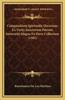 Compendium Spiritualis Doctrinae Ex Varijs Sanctorum Patrum Sententijs Magna Ex Parte Collectum (1582)