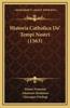 Historia Catholica de' Tempi Nostri (1563)