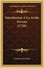 Introducion a la Avida Devota (1726)