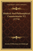 Medical and Philosophical Commentaries V2 (1774)