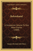 Beforehand: A Companion Volume to One More Chance (1888)