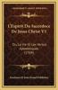 L'Espirit Du Sacerdoce de Jesus Christ V1: Ou La Vie Et Les Vertus Apostoliques (1704)