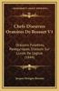 Chefs-D'Oeuvres Oratoires de Bossuet V1: Oraisons Funebres, Panegyriques, Discours Sur L'Unite de L'Eglise (1844)