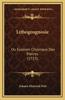 Lithogeognosie: Ou Examen Chymique Des Pierres (1753)