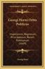 Georgi Horni Orbis Politicus: Imperiorum, Regnorum, Principatuum, Rerum Publicarum (1669)