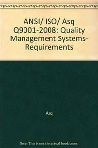 American National Standard: Quality Management Systems- Requirements