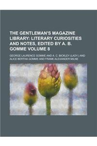 The Gentleman's Magazine Library Volume 8