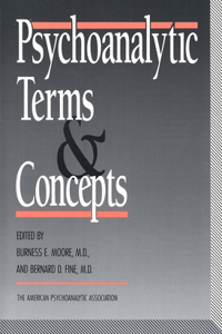 Psychoanalytic Terms and Concepts