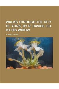 Walks Through the City of York, by R. Davies, Ed. by His Widow