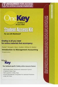 Introduction to Management Acctg Chap 1-17