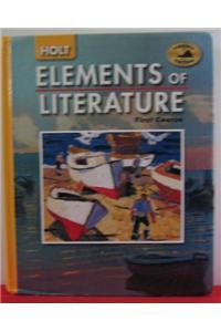 Holt Elements of Literature Virginia: Student Edition Grade 7 2005