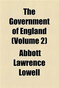 The Government of England (Volume 2)