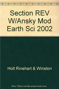 Section REV W/Ansky Mod Earth Sci 2002
