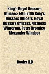 King's Royal Hussars Officers: 14th]20th King's Hussars Officers, Royal Hussars Officers, Nicholas Winterton, Peter Bromley, Alexander Windsor