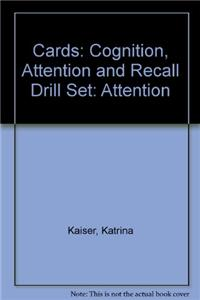 Cards: Cognition, Attention and Recall Drill Set: Attention