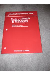 Holt Science & Technology Florida: Reading Comprehension Guide Grades 7 Life Science