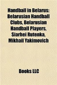 Handball in Belarus