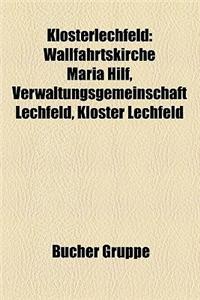 Klosterlechfeld: Wallfahrtskirche Maria Hilf, Verwaltungsgemeinschaft Lechfeld, Kloster Lechfeld