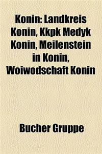 Konin: Landkreis Konin, Kkpk Medyk Konin, Meilenstein in Konin, Woiwodschaft Konin