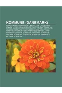 Kommune (Danemark): Kopenhagen, Bornholm, Laeso, Fano, Langeland, Samso, Guldborgsund Kommune, Tonder Kommune, Lolland Kommune