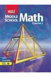 Holt Mathematics Florida: Student Edition Course 2 2004