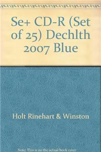 Se+ CD-R (Set of 25) Dechlth 2007 Blue