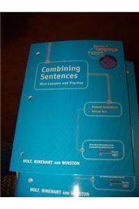 Holt Elements of Language: Combining Sentences Grade 6