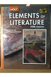 Holt Elements of Literature Virginia: Student Edition Grade 11 2005