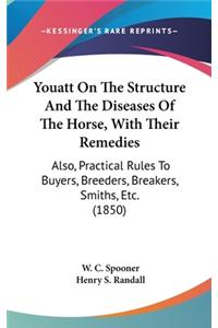 Youatt on the Structure and the Diseases of the Horse, with Their Remedies: Also, Practical Rules to Buyers, Breeders, Breakers, Smiths, Etc. (1850)