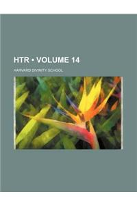 The Harvard Theological Review Volume 14