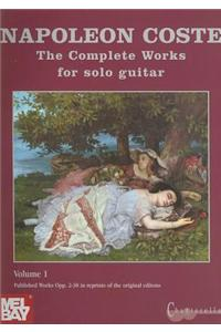 The Complete Works for Solo Guitar, Volume 1