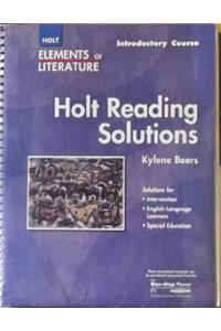 Elements of Literature: Reading Solutions Introductory Course