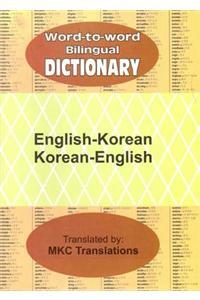 English-Korean and Korean-English Word-to-word Bilingual Dictionary