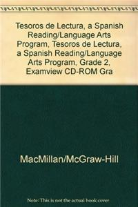 Tesoros de Lectura, a Spanish Reading/Language Arts Program, Grade 2, Examview CD-ROM