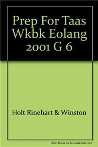 Prep for Taas Wkbk Eolang 2001 G 6