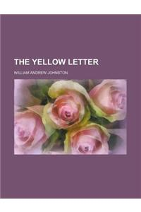 The Yellow Letter