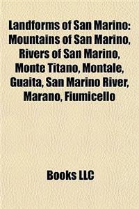 Landforms of San Marino