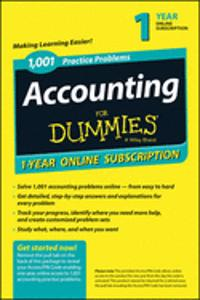 1001 ACCOUNTING PRACTICE PROBLEMS FOR DU