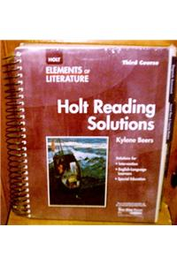 Elements of Literature: Reading Solutions Third Course