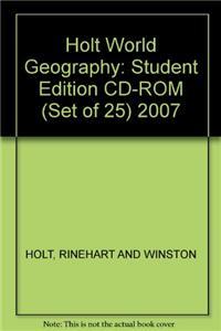 Se CD-R (Set of 25) Hss: Wld Geo 2007