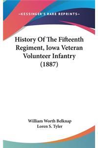 History Of The Fifteenth Regiment, Iowa Veteran Volunteer Infantry (1887)
