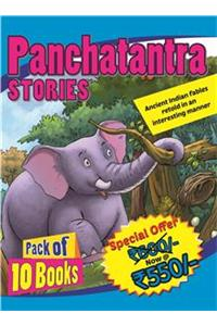 Panchatantra Stories: Pack of 10 Books
